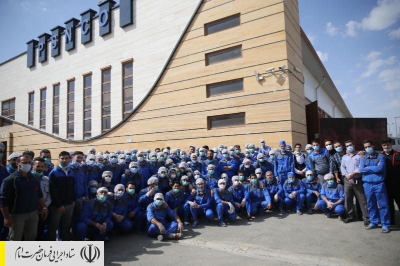 رکوردشکنی ستاد اجرایی فرمان امام در تولید ماسک بهداشتی با افزایش ظرفیت به ۵ میلیون ماسک در روز