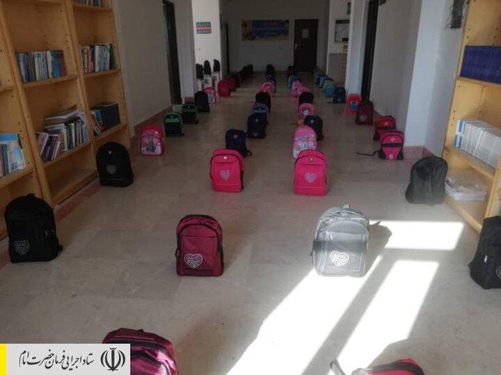 توزیع بستههای لوازمتحریر بین دانشآموزان مناطق محروم استان اردبیل توسط ستاد اجرایی فرمان امام