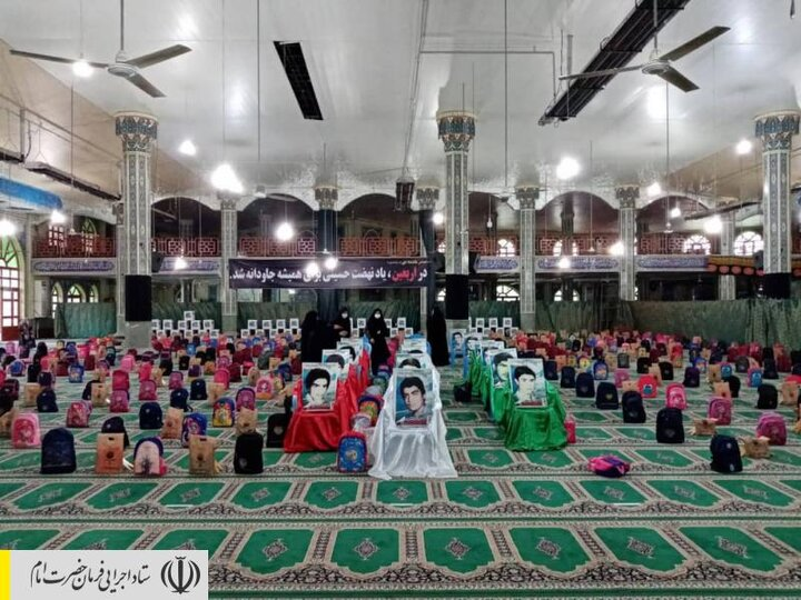 توزیع بستههای لوازمتحریر بین دانشآموزان مناطق محروم علیآباد کتول توسط ستاد اجرایی فرمان امام