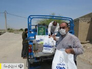 طبخ و توزیع غذای گرم در مناطق محروم استان بوشهر توسط ستاد اجرایی فرمان امام