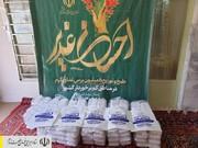 طبخ و توزیع غذای گرم در مناطق محروم استان مرکزی توسط ستاد اجرایی فرمان امام