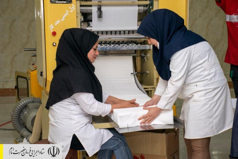 ایجاد ۱۱۰ شغل جدید در منطقه محروم درهشهر ایلام توسط ستاد اجرایی فرمان امام