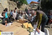 کمکرسانی فوری به مردم سیلزده استان اردبیل