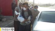 توزیع بستههای پروتئینی اهدایی ستاد اجرایی فرمان امام بین کارگران روزمزد ایلام