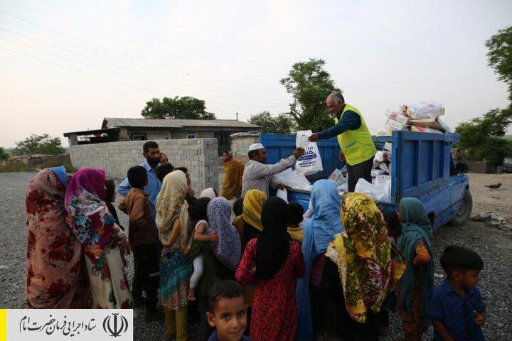 توزیع ۶۵ هزار بسته پروتئینی بین آسیبدیدگان کرونا در استان گلستان توسط ستاد اجرایی فرمان امام