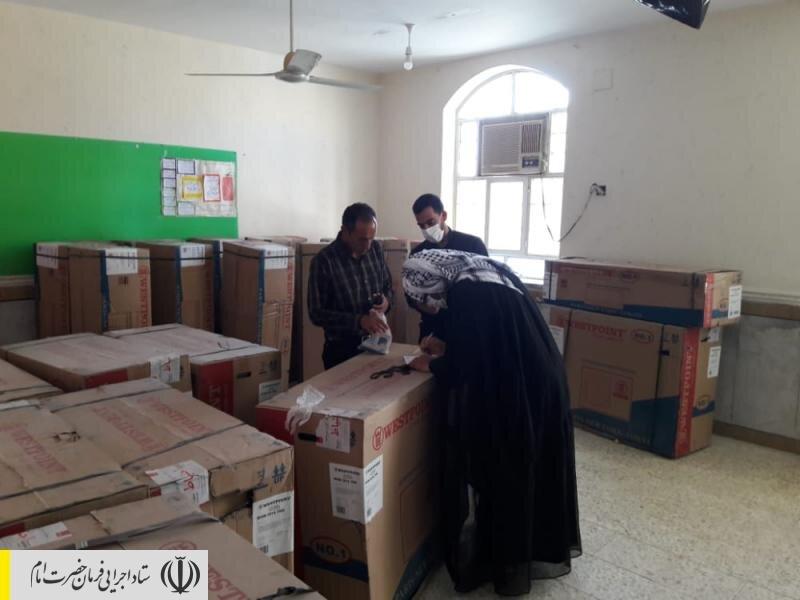 ساخت ۲۲ مدرسه، ۴ خانه بهداشت و تکمیل و تجهیز ۱۵ مسجد در منطقه محروم شعیبیه خوزستان توسط ستاد اجرایی فرمان امام