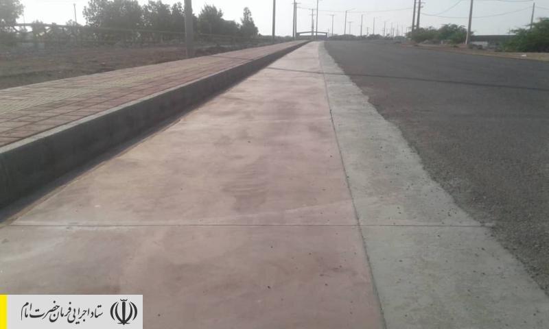 پایان فاز اول پروژه مسیر گردشگری جزیره هرمز به طول 10 کیلومتر توسط ستاد اجرایی فرمان امام
