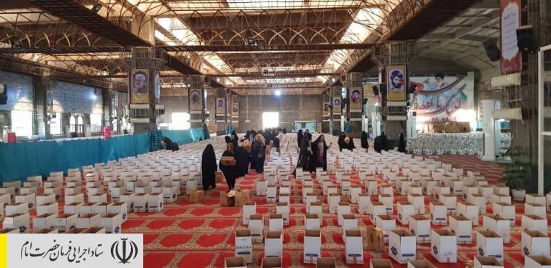 اجرای رزمایش احسان و همدلی در استان خوزستان توسط ستاد اجرایی فرمان امام/ توزیع بسته های معیشتی و بهداشتی بین آسیب دیدگان کرونا
