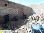 ادامه ساخت و بازسازی منازل مردم سیل زده خوزستان توسط ستاد اجرایی فرمان امام
