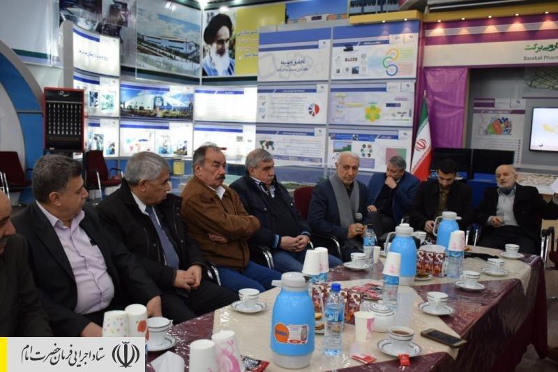 بازدید جمعی از مدیران علمی و فرهنگی سوریه از نمایشگاه دائمی ستاد اجرایی فرمان امام