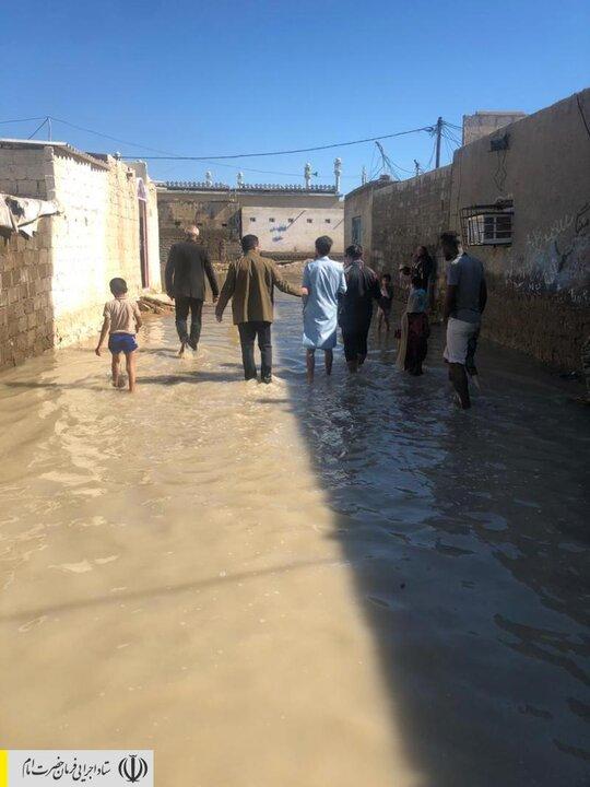دستور رئیس ستاد اجرایی فرمان امام برای بسیج امکانات و اعزام نیروهای امدادی و جهادی به مناطق سیل زده سیستان و بلوچستان
