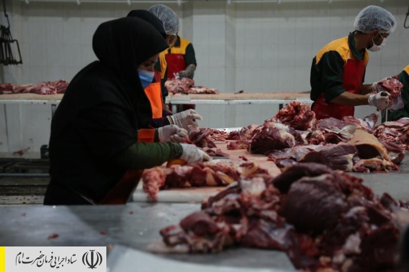 توليد ١٢هزار تن گوشت قرمز ماحصل اجرای طرح های اشتغالزايی ستاد اجرایی فرمان امام