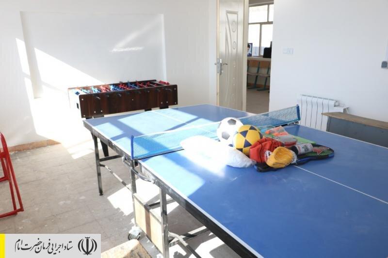 بازسازی یک مدرسه مخروبه در بویین زهرا توسط ستاد اجرایی فرمان امام