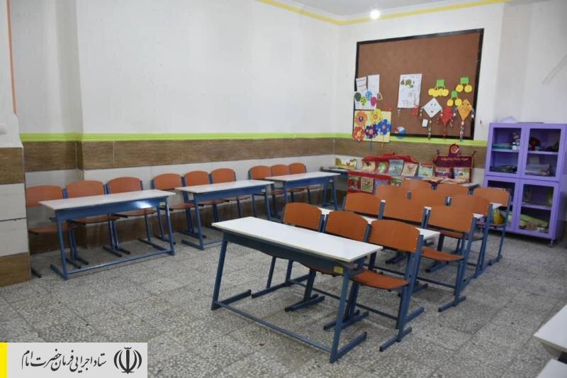افتتاح مدرسه ۱۴ کلاسه برکت در شهرستان زهک