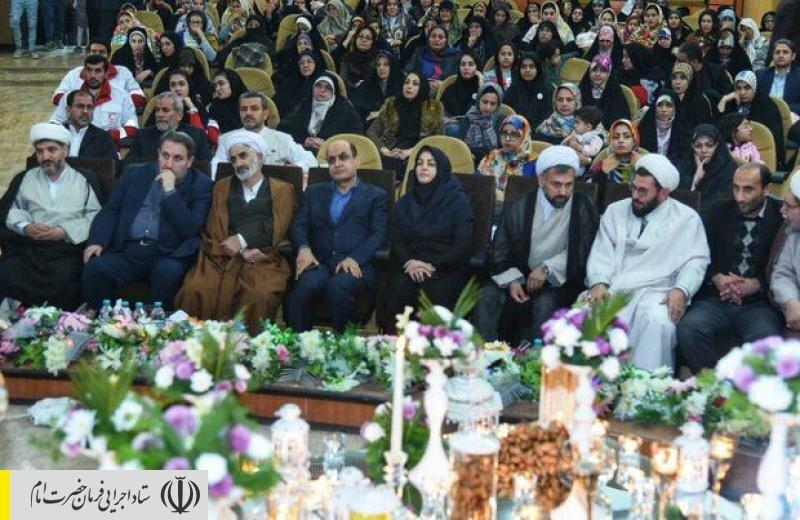 جشن اهدای ۱۲ هزارمین جهیزیه ستاد اجرایی فرمان امام به تازه عروسها در گلستان