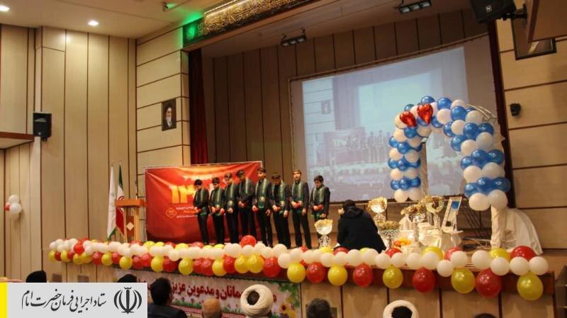 جشن اهدای ۱۲ هزارمین جهیزیه ستاد اجرایی فرمان امام به تازه عروسها در همدان