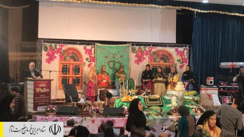 جشن اهدای ۱۲ هزارمین جهیزیه ستاد اجرایی فرمان امام به تازه عروسها در بوشهر