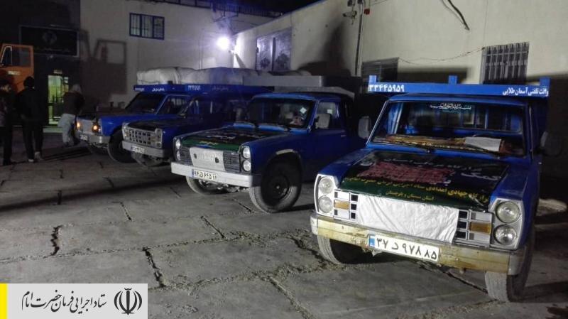 با دستور رییس ستاد اجرایی فرمان امام اولین محموله امدادی، غذایی و دارویی ستاد به ۷ منطقه سیلزده سیستان و بلوچستان اعزام شد
