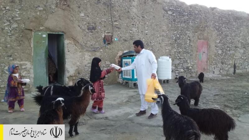 راه اندازی 3 آشپزخانه ستاد اجرایی فرمان امام در مناطق سیل زده سیستان و بلوچستان