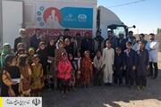 ویزیت رایگان بیماران و توزیع مواد غذایی توسط ستاد اجرایی فرمان امام در روستاهای سیلزده سیستان و بلوچستان