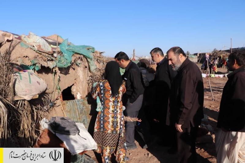 حضور مدیران بنیاد احسان ستاد اجرایی فرمان امام در مناطق سیل زده استان کرمان