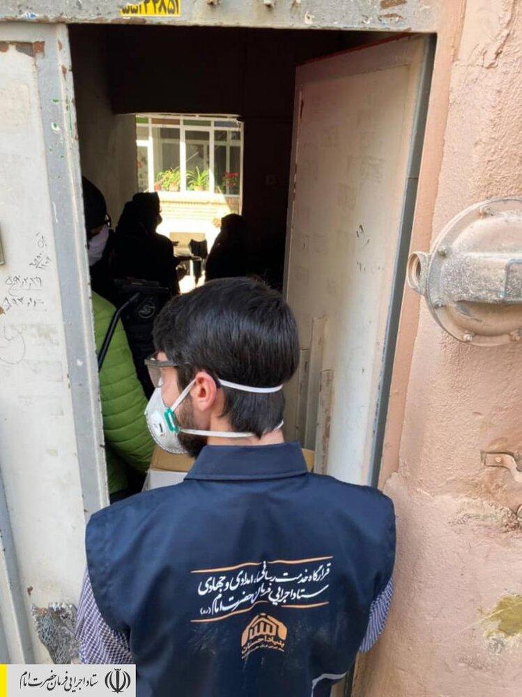 توزیع ۲۲ هزار بسته اقلام بهداشتی و ضدکرونایی در مناطق محروم کشور توسط ستاد اجرایی فرمان امام