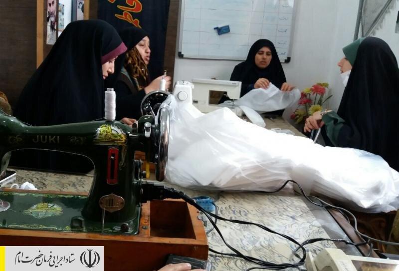 به منظور مقابله با کرونا، نیروهای جهادی همکار ستاد اجرایی فرمان امام در استان گلستان اقدام به راه اندازی کارگاه های تولید ماسک بهداشتی کردند.