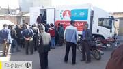 ارائه خدمات درمانی و پزشکی رایگان کاروان سلامت احسان ستاد اجرایی فرمان حضرت امام (ره) در مناطق زلزله زده آذربایجان شرقی