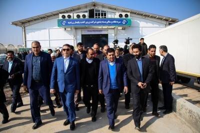 تصاویر/ افتتاح و بهره برداری از سه طرح بزرگ اقتصادی ستاد اجرایی فرمان امام(ره) در استان مرکزی