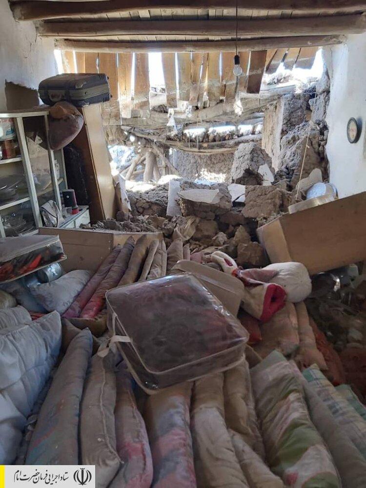 اهدای دام زنده و لوازم خانگی از طرف ستاد اجرایی فرمان حضرت امام (ره) به زلزله زدگان آذربایجان شرقی