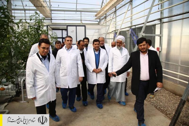 افتتاح ۳ طرح بزرگ اقتصادی ستاد اجرایی فرمان امام در استان مرکزی و ایجاد ۹۲۰ شغل جدید