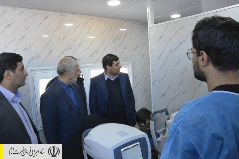 افتتاح ۷ مرکز دوراپزشکی ستاد اجرایی فرمان حضرت امام (ره) در مناطق محروم سیستان و بلوچستان برای ارتباط بیماران با پزشکان متخصص داخلی و خارجی