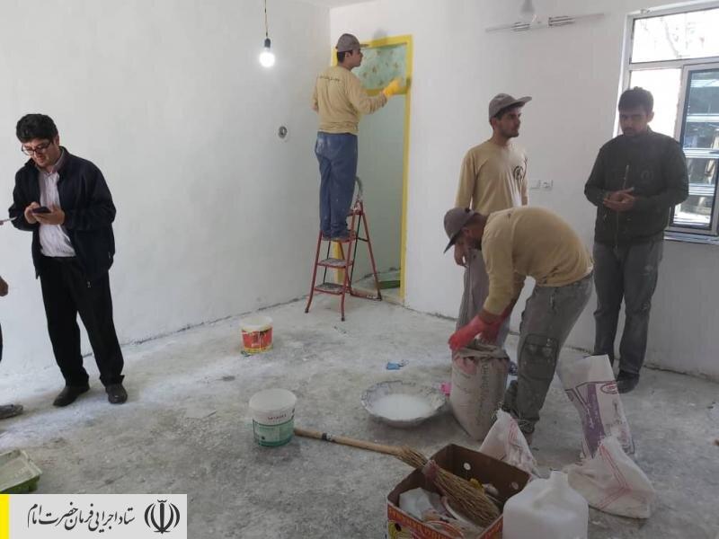فعالیت قرارگاه جهادی ستاد اجرایی فرمان حضرت امام (ره) در مناطق محروم استان اردبیل؛