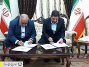 امضای تفاهمنامه بین ستاد اجرایی فرمان حضرت امام (ره) و استانداری کرمانشاه برای ایجاد ۱۵ هزار فرصت شغلی