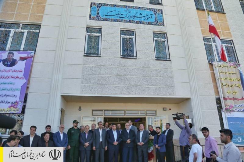 افتتاح مدرسه برکت نصر توسط رئیس ستاد اجرایی فرمان حضرت امام (ره)