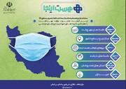 سامانه توزیع مستقیم ماسک سه لایه با فیلتراسیون سطح بالا زیر قیمت مصوب وزارت بهداشت با همکاری گروه های جهادی و نیروهای مردمی