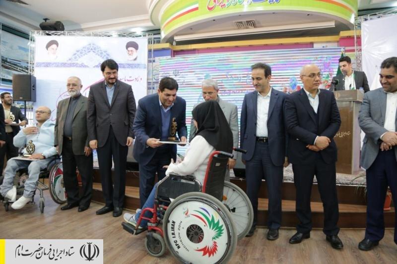 اهدای ۳۰۰۰ ویلچر به معلولان در نقاط محروم کشور