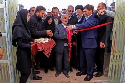 افتتاح مدرسه 9 کلاسه شهیدان حجازی شهرستان گلوگاه توسط ریاست ستاد اجرایی فرمان حضرت امام (ره)