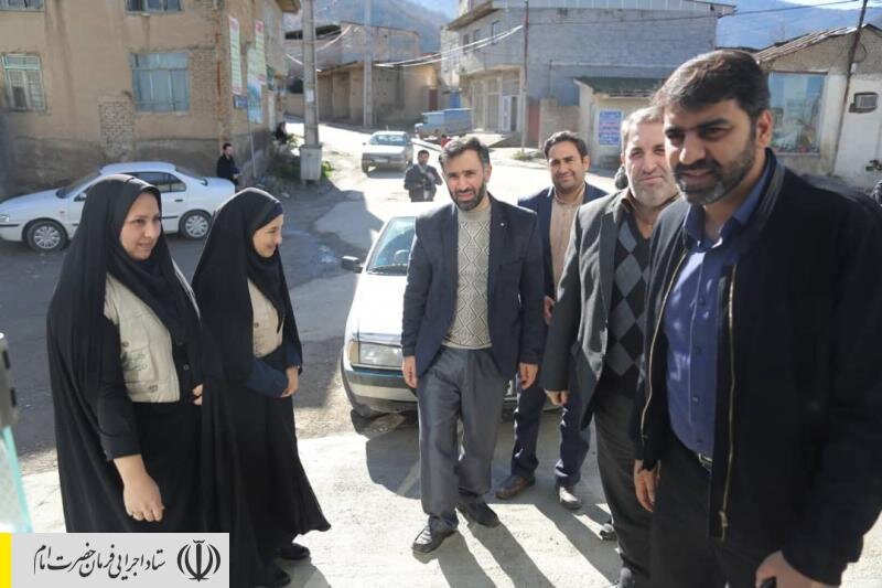 پیگیری تعهدات ستاد اجرایی فرمان امام در مناطق سیل زده