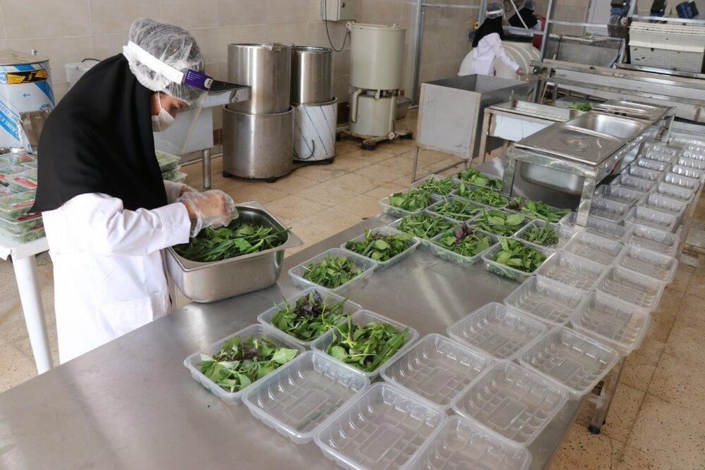 گزارش خبر ۱۴ از افتتاح طرح اشتغالزایی بنیاد برکت در رامهرمز برای فراوری ۲۵۰ تن سبزی درسال