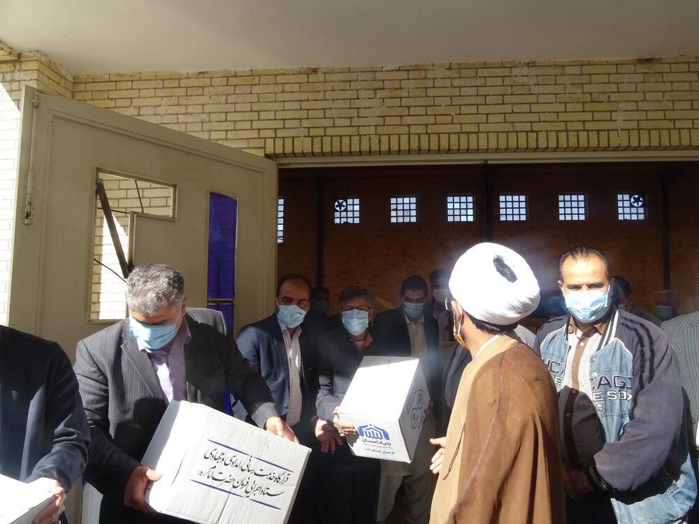 بسته های بهداشتی به ارزش ۲/۵ میلیارد تومان در سیستان و بلوچستان توزیع میشود