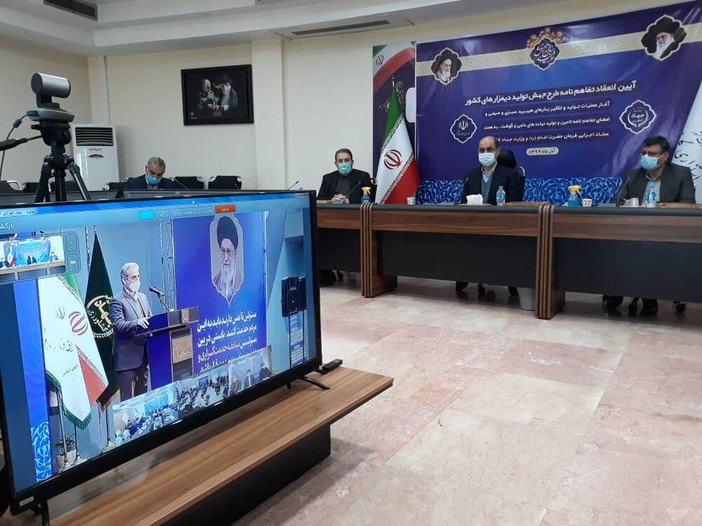 زیر کشت رفتن 20 هزار هکتار تولید دانه های روغنی در استان گلستان با کمک ستاد اجرایی فرمان حضرت امام(ره)