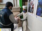 توزیع ۵ تن بسته پروتئینی در محله محروم هرندی تهران توسط ستاد اجرایی فرمان امام