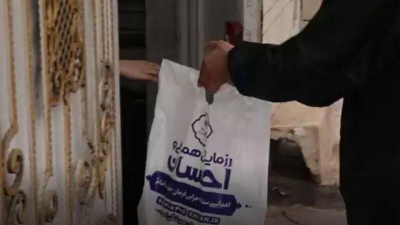 نیروهای جهادی ستاد اجرایی فرمان امام در کنار سیلزدگان خوزستان