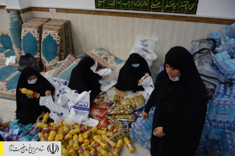 آغاز مرحله دوم امدادرسانی ستاد اجرایی فرمان امام به سیلزدگان خوزستان
