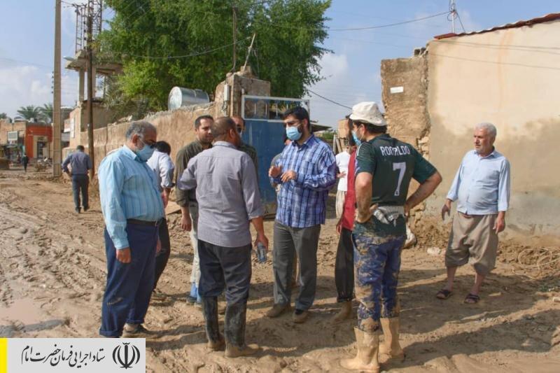 دستور رئیس ستاد اجرایی فرمان امام برای امدادرسانی فوری به سیلزدگان جنوب کشور