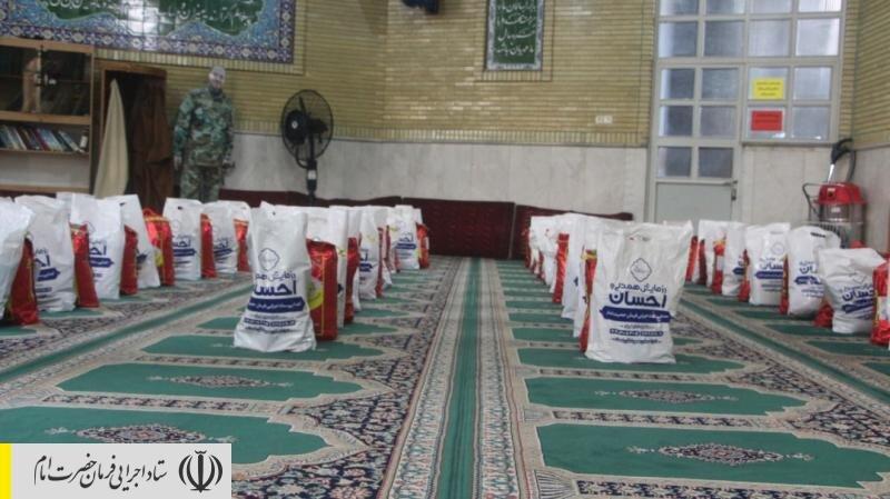 توزیع ۱۰ هزار بسته معیشتی در مناطق حاشیه شهر تهران توسط ستاد اجرایی فرمان امام