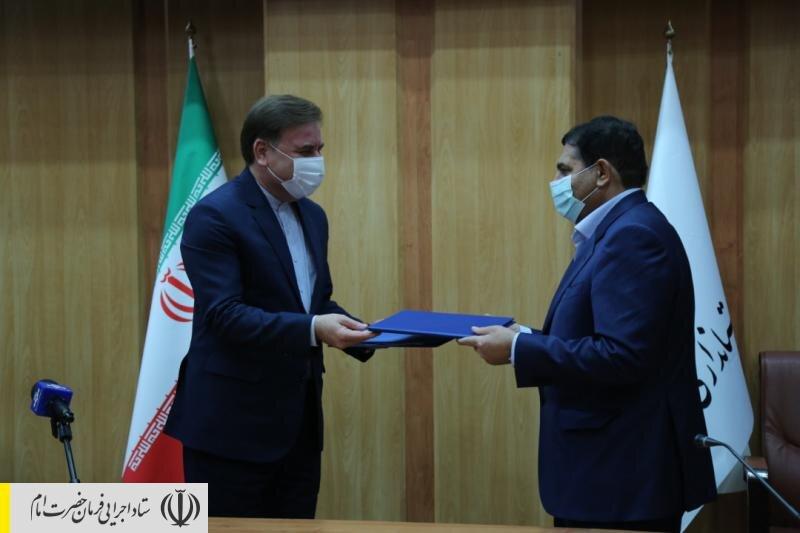 امضای تفاهمنامه ستاد اجرایی فرمان امام و استانداری گیلان برای ایجاد ۶۰ هزار شغل طی دو سال
