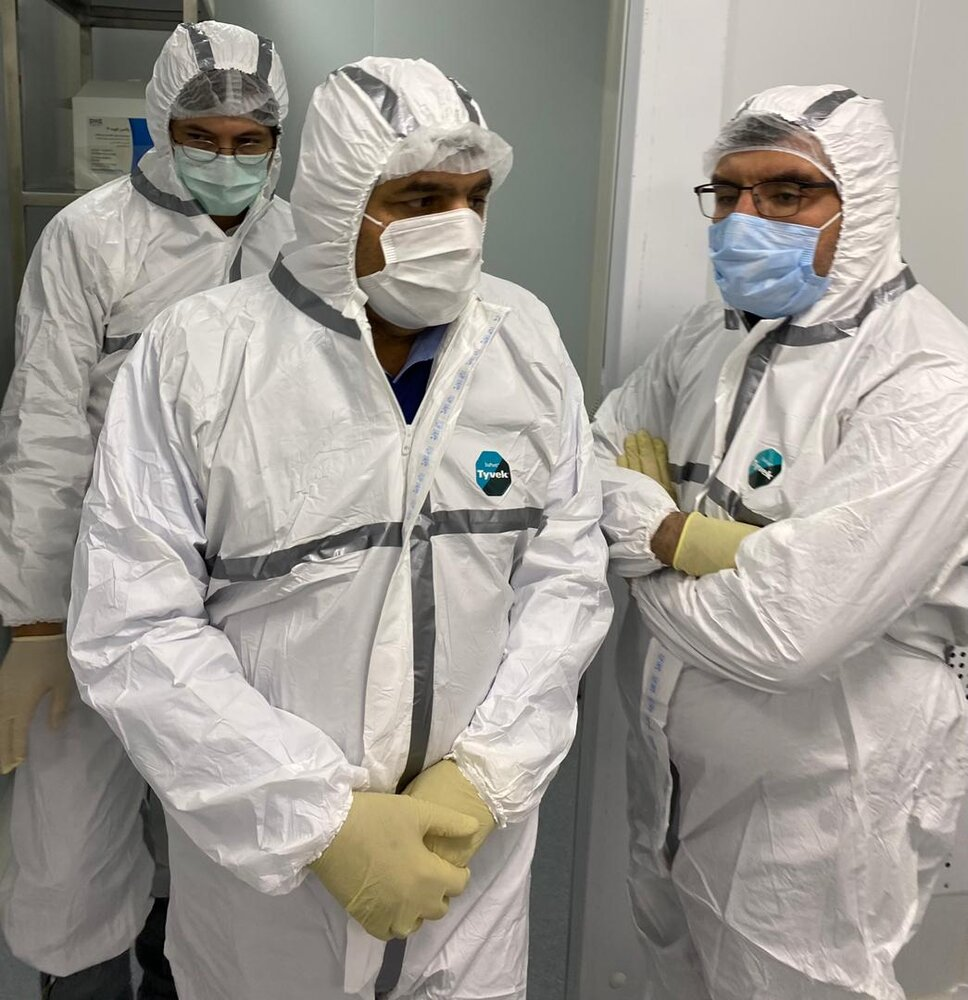 آمادگی ستاد اجرایی فرمان امام برای تولید ماهیانه ۱.۵ میلیون دوز واکسن کرونا از ۴۰ روز دیگر