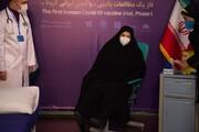 """گفتگوی زنده بخش خبری ۲۱ شبکه یک سیما با طیبه مخبر، اولین دریافت کننده """"واکسن ایرانی کرونا"""""""
